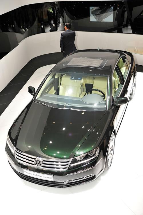 Top of the range Volkswagen car